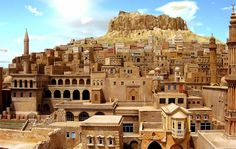 Spend some time in Mardin and Midyat and revel in the ancient architecture. Tour some of the oldest [Syriac/Süryani] monasteries in the world, where the clergy and monks (and some other natives) still speak Syriac/Aramaic. Cast a wistful and loving gaze at the Mesopotamian Plain, toward southern Mesopotamia, from Mardin. Purchase some traditional, locally-made telkari pieces in Midyat. #CradleOfCivilization Video about Mardin here: https://www.youtube.com/watch?v=GkLIyB7Xnfg
