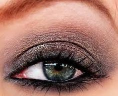 Image result for urban decay mushroom @wpn think this would look aiigh't even with green eyes...?