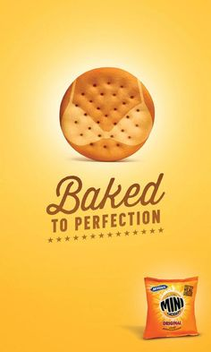 Mini Cheddars by Mark Wesley, via Behance PD