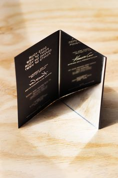 invitation design... Kenneth Cole. New York Fashion Week Spring 2014, September 2013 #refinery29