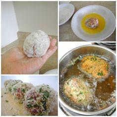 Scottish Egg Recipe - How To Steps hmmm..sounds good
