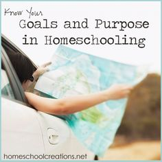 Having an overall plan in place helps you stay in focus during the homeschool year and remember what you wanted to see accomplished. Includes free printables for goal setting and planning.