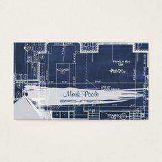 Pixdezines chalkboard architect blueprints business card pinterest en este artculo te mostramos ideas originales para tus tarjetas de visita o presentacin malvernweather Images
