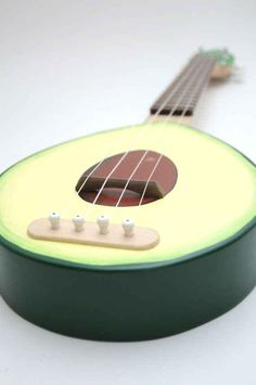 this super cute ukelele that proves you really can play with your food: 13 unique items for the avocado lover