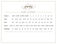Persnickety Baby Clothes Size Chart Predict Your S In On
