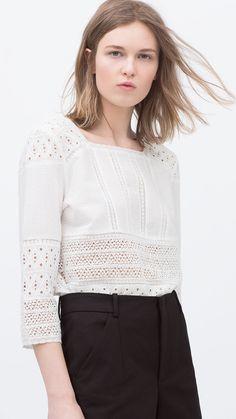 Zara ss2015, blusa