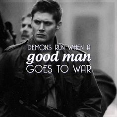 Dean Winchester | Huh, never thought about it before, but obvi this quote serves Rory as well as Dean.