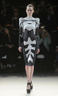 Dress : Nichola Formichetti and Romain Kremer Fall-Winter 2012/2013 in Paris. #capitol
