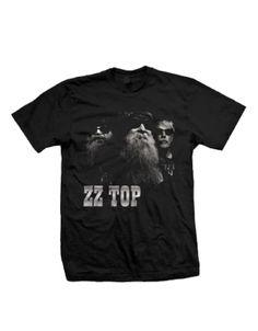 ZZ Top Black Photo Men's T-Shirt