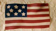 Fondant American Flag