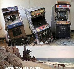 YOU MANIACS!! Abandoned Arcades
