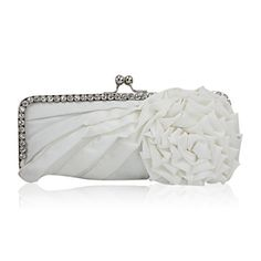 Gorgeous Satin With Austrian Rhinestone Party Handbags/ Clutches More Colors Available – GBP £ 8.46
