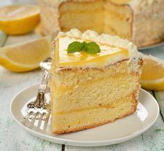 Zitronentorte Die perfekte Attraktion für deinen nächsten Besuch. Diese #Torte musst du deinen Gästen präsentieren.