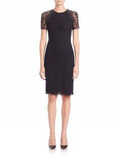 Ralph Lauren Collection - Darlene Guipure Lace Sheath Dress