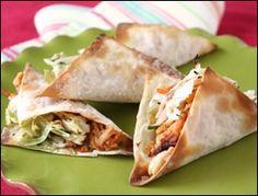 Hungry Girl wonton tacos, 191 calories for 4 tacos. weight-watchers