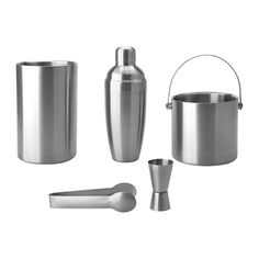 Gifts Under $20 - OLEBY 5-piece, stainless steel bar set. Perfect for the budding mixologist in your life.