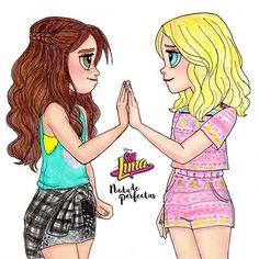 Luna Valente & Ámbar Smith #lumbar #nadadeperfectas #soyluna2 QUE LINDA ESCENA! no puedo esperar para ver que cosas sucederán respecto a estos dos personajes, espero que realmente se lleven bien, Ámbar esta cada vez más cerca de Simón, cómo Luna reaccionará al saberlo... bueno a seguir viendo más de Soy Luna 2 #lunavalente #ambarsmith #solbenson #soyluna #arte #dibujos #soylunadibujos Mañana dibujo, el casí beso #simbar y después los outfits de la gala Sígueme ...