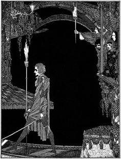 Harry Clark Trapeze Artist | Harry Clarke - Poe...