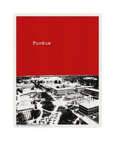 Purdue University Art Poster