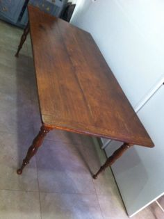 French Antique Farm Kitchen Table - completely restored.