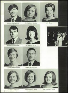 1968 Pepperell High School Yearbook via Classmates.com