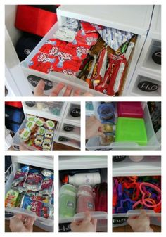 DIY Lunchbox Creation Station to make your mornings easier
