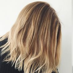 Highlights painted with 902 Extra Light Beige Blonde to cool down her Natural Warmth and add creamy, velvet Tones  Shop Blondes at