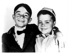 My favorite two! #LittleRascals