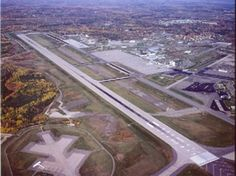 Bangor, Maine International Airport - Where we landed and went thru customs coming back from Europe in 1976 Bangor Maine, The Way Home, International Airport, Places Ive Been, Fields, Past, City Photo, Aviation, Europe