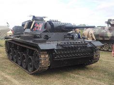 An Ersatz Pzkpfw-III Ausf.J built on the chassis of an M113 APC.