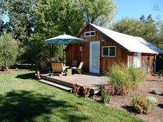 Check out this awesome listing on Airbnb: Studio cottage on 2 acres - Houses for Rent