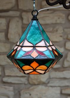5 Wise Clever Ideas: Old Lamp Shades Lampshade Redo lamp shades drum diy chandelier.Antique Lamp Shades Gone With The Wind. Stained Glass Lamp Shades, Stained Glass Light, Tiffany Stained Glass, Stained Glass Designs, Stained Glass Projects, Stained Glass Patterns, Stained Glass Windows, Hanging Lanterns, Leaded Glass