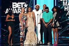 "Complete List Of BET Awards 2017 Winners    Humanitarian AwardWINNER: Chance the RapperLifetime Achievement AwardWINNER: New Edition Best Female R&B/Pop ArtistWINNER: Beyoncé  Kehlani Mary J. Blige Rihanna SolangeBest Male R&B/Pop ArtistWINNER: Bruno Mars Chris Brown The Weeknd Trey Songz UsherViewers' Choice Award The Weeknd ft. Daft Punk ""Starboy""WINNER: Beyonce ""Sorry"" Bruno Mars ""24K Magic"" Rae Sremmurd ft. Gucci Mane ""Black Beatles"" Migos ft. Lil Uzi Vert ""Bad and Boujee"" Drake ""Fake…"