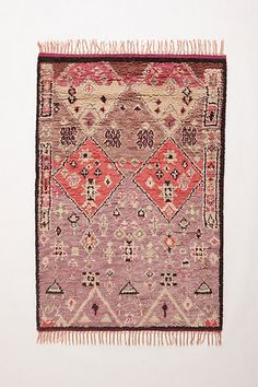 boho rug for aisle decor