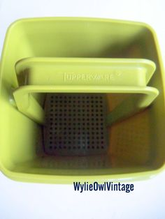 Vintage Avocado Green Tupperware Masher 1970s by WylieOwlVintage, $12.50