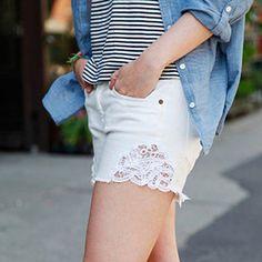 30 Hella maneiras fáceis de transformar seriamente o seu jeans velho