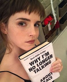 "5.6m Likes, 36.5k Comments - Emma Watson (@emmawatson) on Instagram: ""Have you had a chance to pick up a copy of @oursharedshelf Jan/Feb book choice, Why I'm No Longer…"""