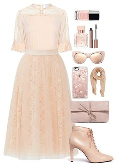 """Pretty in Pink"" by dn8-35 ❤ liked on Polyvore featuring Tanya Taylor, Bailey 44, Opening Ceremony, LULUS, Casetify, STELLA McCARTNEY, MANGO, Maison Francis Kurkdjian, outfit and fashionset"