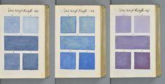 En 1692 A. Boogert realizó un libro sobre la mezcla de acuarelas en donde a través de sus 800 páginas realiza un gigantesco trabajo sobr...