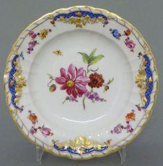 KPM Berlin Dessert Schale 'Breslauer Stadtschloss' Rocaille Dec. 64, D=15cm #3 in Antiquitäten & Kunst, Porzellan & Keramik, Porzellan | eBay