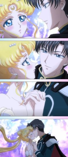Pretty Guardian Sailor Moon: Crystal || Serenity and Endymion || Yay~ <3