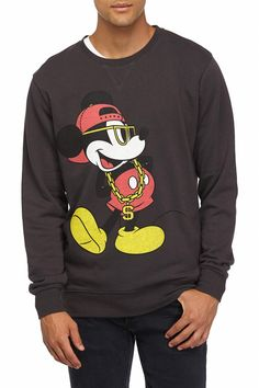 lc gangster mickey fleece, EBONY