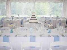 The reception tent at Highfield Hall Cape Cod Wedding in Falmouth, Massachusetts - Sarah Murray Photography