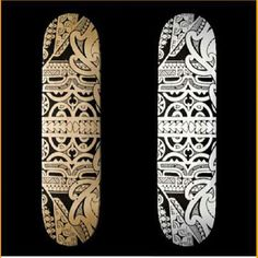 New set of #skateboard #decks with a #tribaltattoo in #marquesas style. These #skateboarddecks are available in my Zazzleshop. Search for MarkStorm on Zazzle.com Skateboard Design, Skateboard Decks, Ski Sport, Sports Graphics, New Set, Tribal Tattoos, Tattoo Designs, How To Draw Hands, Profile