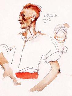 Hugo Pratt - Obock (1994) - Henry de Monfreid