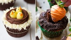 8 söta cupcakes att inspireras av i påsk Former, Cupcakes, Marshmallows, Fudge, Easter, Desserts, Food, Spring, Inspiration