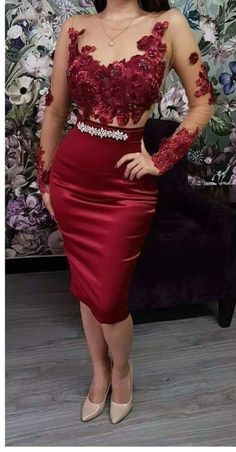 Long sleeves Sexy Satin Homecoming Dress Lace Appliques Women party Dress 2019 sold by Onmyprom. Ice Dresses, Party Dresses For Women, Evening Dresses, Short Dresses, Long Sleeve Homecoming Dresses, Bridesmaid Dresses, Prom Dresses, Formal Dresses, Kohls Dresses