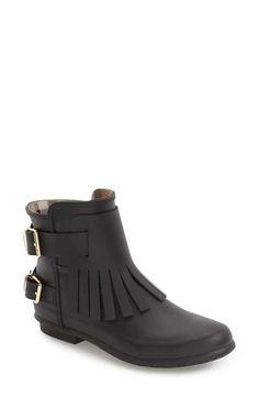 Burberry 'Fritton' Kiltie Rain Boot (Women)