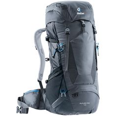 Buy the Deuter Futura Vario 50 + 10 Hiking Pack at eBags - Carry your essentials for a rugged hike inside this durable hiking backpack from Deuter. The Deuter Hiking Backpack, Black Queen, The North Face, Good To Great, Thru Hiking, Backpack Online, Backpacking Tips, Golf Bags, Handbags