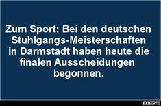 Zum Sport: Bei den deutschen Stuhlgangs-Meisterschaften.. | Lustige Bilder, Sprüche, Witze, echt lustig
